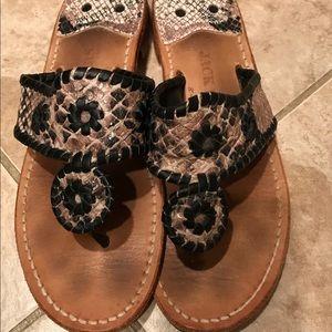 Reptile Jack Rogers Sandals